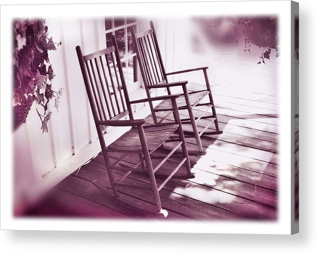 Love Acrylic Print featuring the photograph Together Forever by Mal Bray
