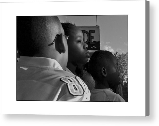 Black And White Acrylic Print featuring the photograph Untitled 1 by Filipe N Marques
