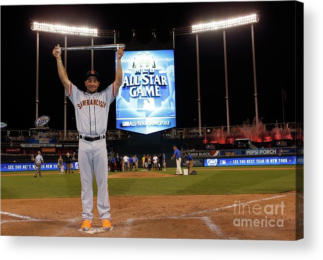 American League Baseball Acrylic Print featuring the photograph 83rd Mlb All-star Game 1 by Jamie Squire