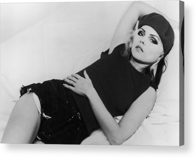 Singer Acrylic Print featuring the photograph Deborah Harry by Hulton Archive