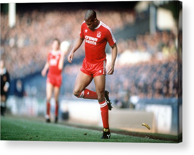 1980-1989 Acrylic Print featuring the photograph Football. 21st February 1988. Fa Cup by Bob Thomas