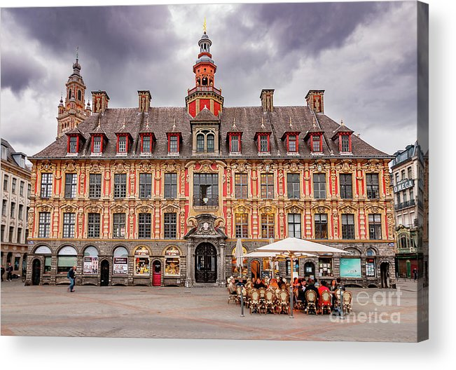 Europe Acrylic Print featuring the photograph Vieille Bourse Lile by Paul Hennell