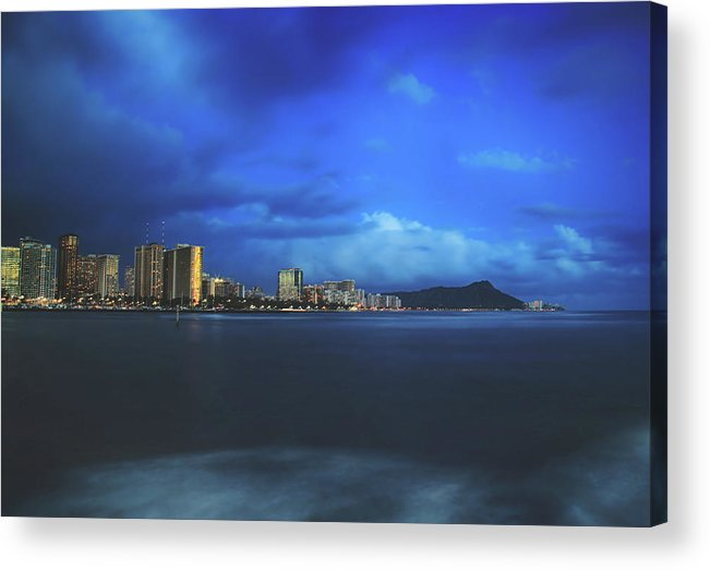 Oahu Acrylic Print featuring the photograph We Always Make It Through by Laurie Search