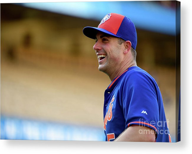 People Acrylic Print featuring the photograph David Wright by Harry How