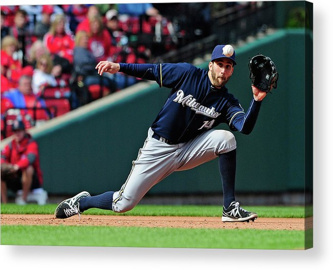 Catching Acrylic Print featuring the photograph Tony Cruz by Jeff Curry