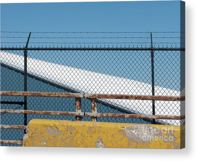 Fence Acrylic Print featuring the photograph Stay Out by Ann Horn