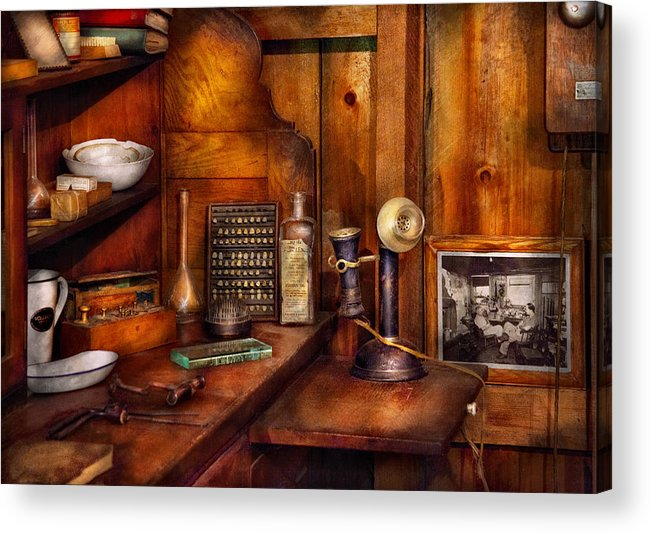 Dentist Acrylic Print featuring the photograph Dentist - Time For Your Next Appointment by Mike Savad