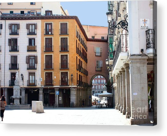 Madrid Acrylic Print featuring the photograph Madrid by Sophie Vigneault