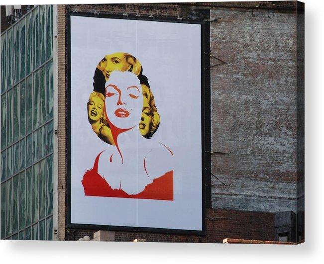 Marilyn Monroe Acrylic Print featuring the photograph Marilyn Monroe by Rob Hans