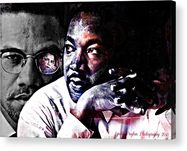 Doctor Photographs Acrylic Print featuring the digital art The Vision by Lynda Payton