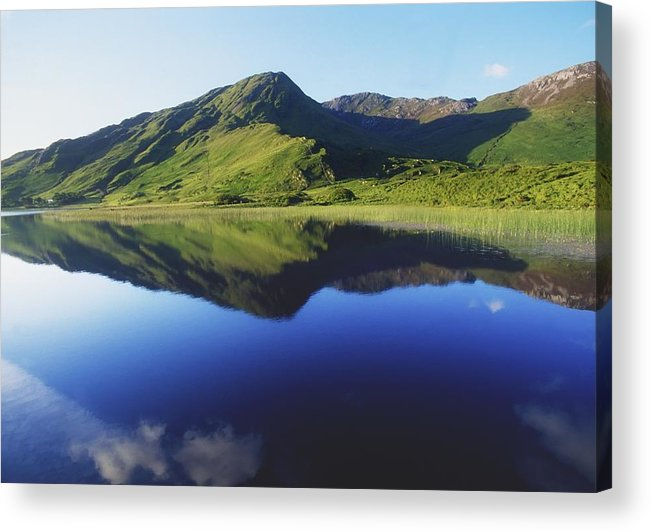 Calm Acrylic Print featuring the photograph Kylemore Lake, Co Galway, Ireland Lake by The Irish Image Collection