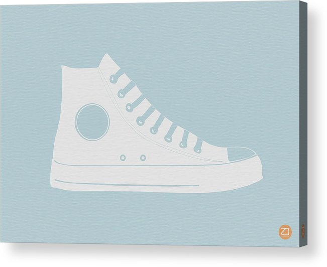 Acrylic Print featuring the photograph Converse Shoe by Naxart Studio
