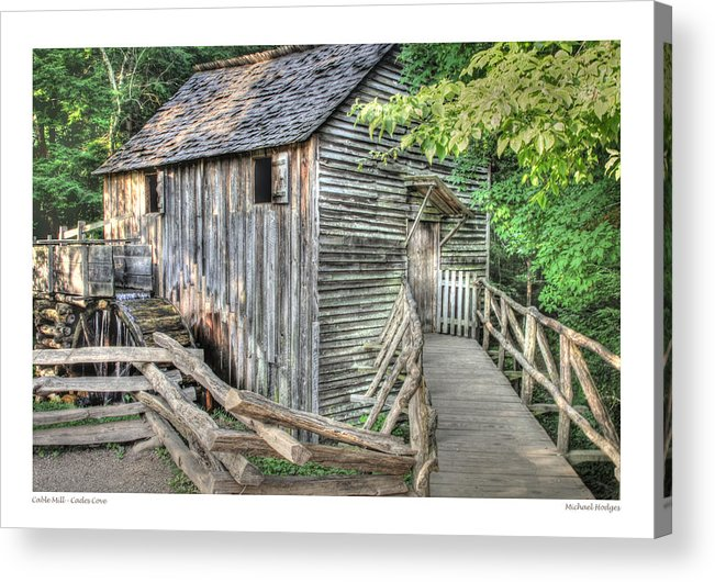 Mill Acrylic Print featuring the photograph John Cable Mill by Michael Hodges