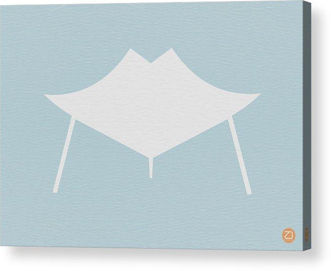 Chair Acrylic Print featuring the digital art Modern Chair by Naxart Studio