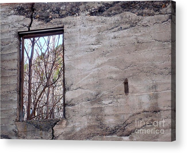 Window Acrylic Print featuring the photograph Outlook by Jim Simak