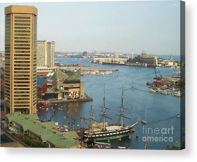 Baltimore Acrylic Print featuring the photograph Baltimore by Debbi Granruth