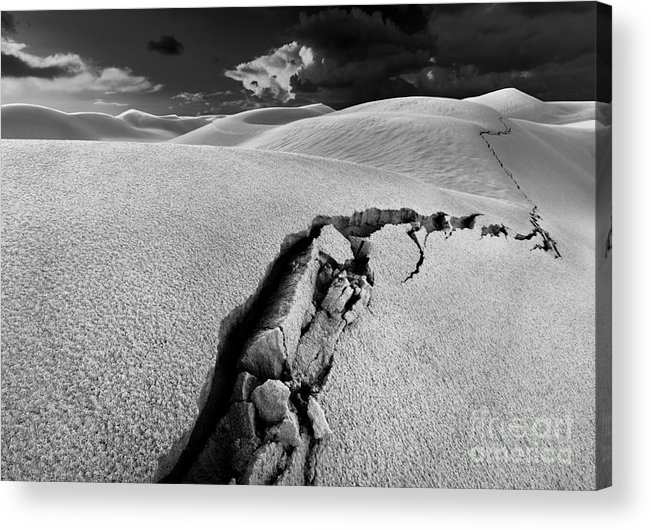 Crack Acrylic Print featuring the photograph The Crack Of Dawn 1 by Julian Cook