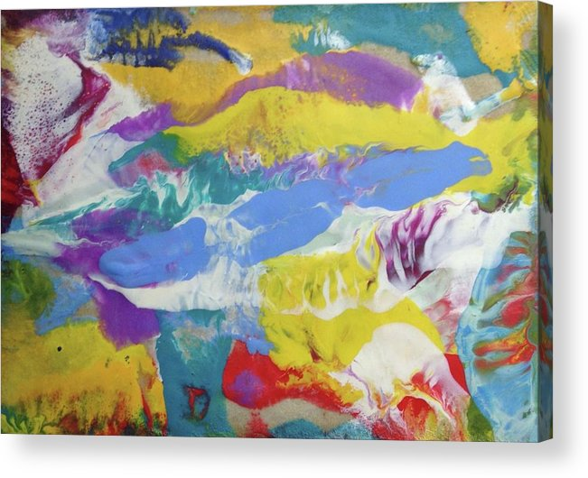 Acrylic Print featuring the painting Insemination by Sperry Andrews