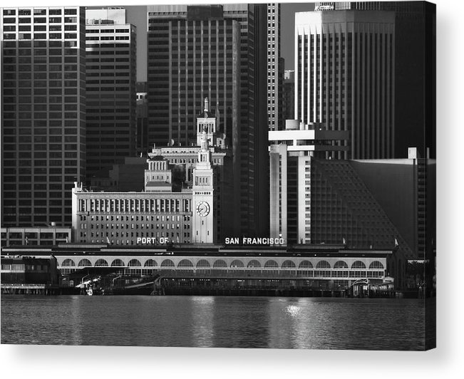 Port Acrylic Print featuring the photograph Port Of San Francisco by Mick Burkey