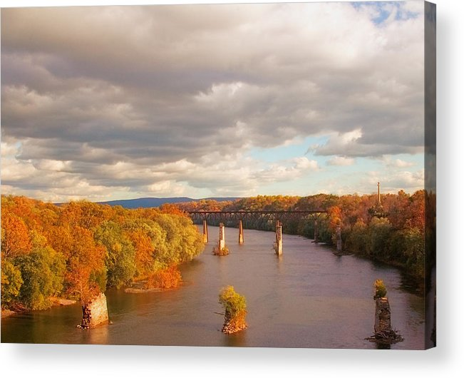 Potomac Acrylic Print featuring the photograph Potomac River by Mick Burkey