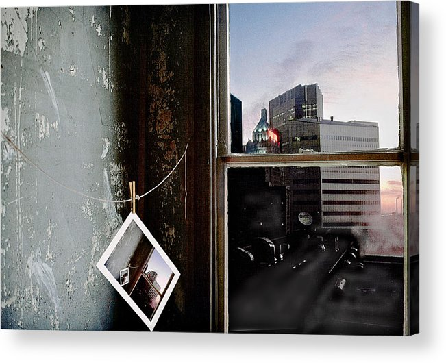 Window Acrylic Print featuring the photograph Pre-visualization by Peter J Sucy