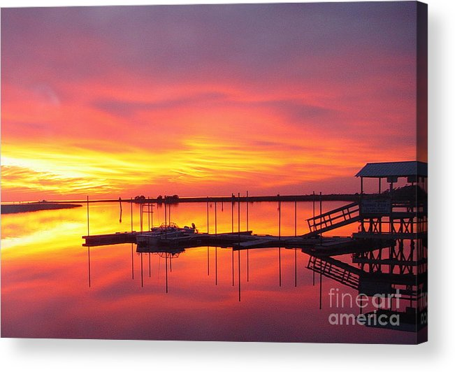Sunsets Acrylic Print featuring the photograph Seeing Is Believing by Debbie May