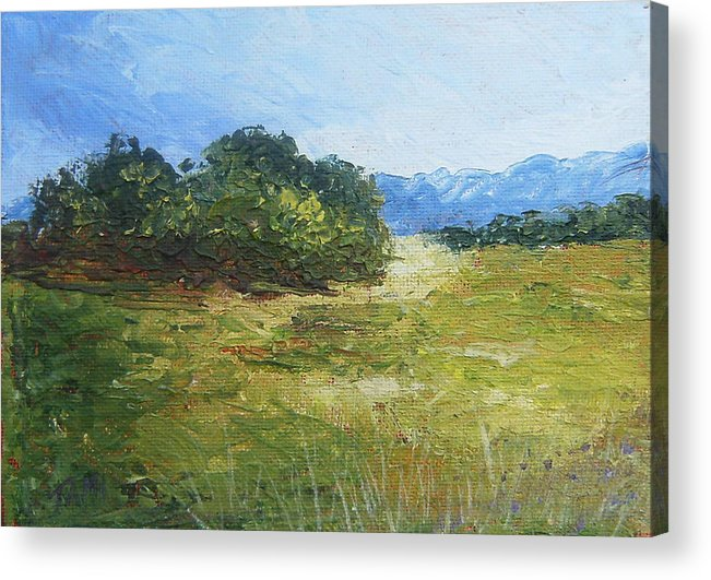 Acrylic Print featuring the painting Summer Day by Tami Booher