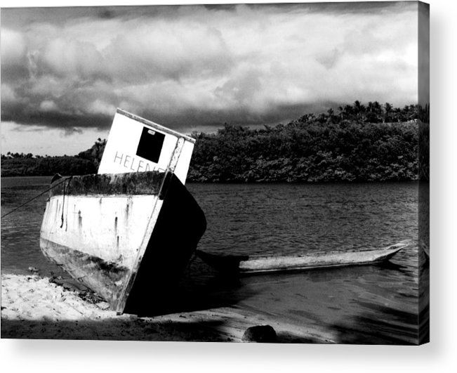 Boat Acrylic Print featuring the photograph Two Boats by Amarildo Correa