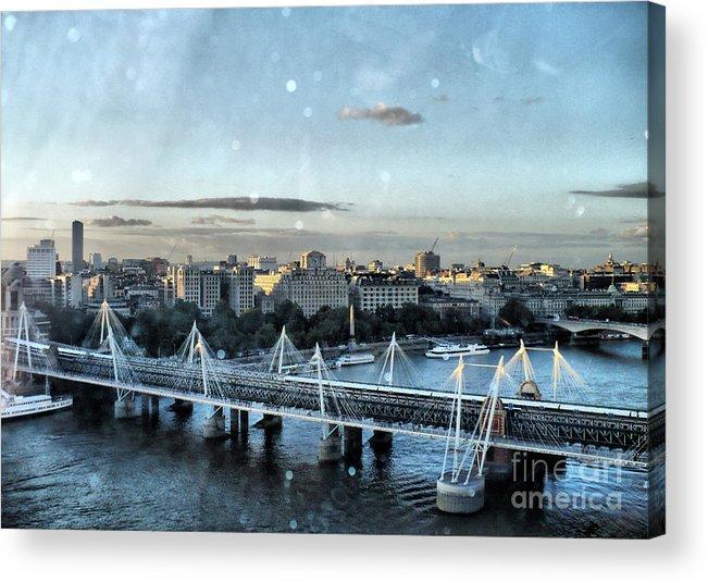 London Photos Acrylic Print featuring the photograph London by Justyna JBJart