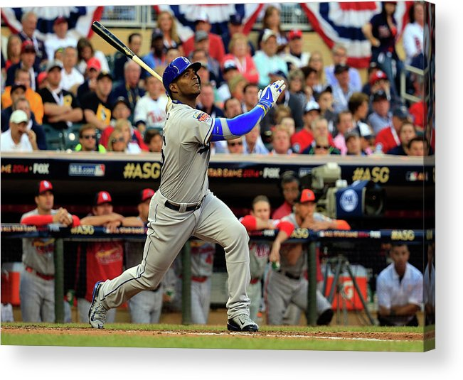 American League Baseball Acrylic Print featuring the photograph 85th Mlb All Star Game 5 by Rob Carr