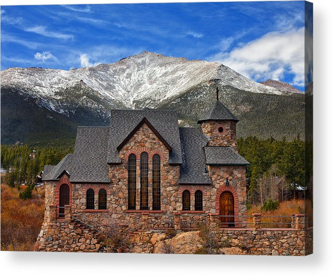 Colorado Landscapes Acrylic Print featuring the photograph Afternoon Mass by Darren White