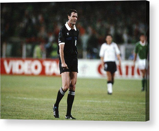 Fussball Wm 1990 In Italien Eng Irl 1 1 Acrylic Print