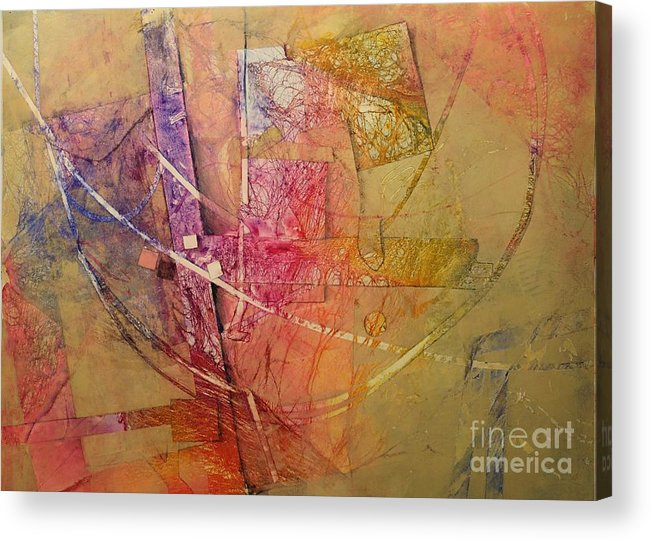Acrylic Print featuring the painting Symphony I by Elizabeth Carr