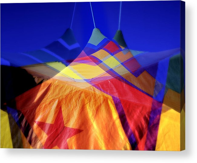 Tent Acrylic Print featuring the photograph Tent Of Dreams by Wayne Sherriff