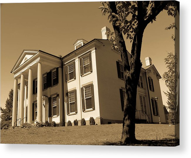 Waldomore Acrylic Print featuring the photograph The Waldomore Timeless Series 3 by Howard Tenke