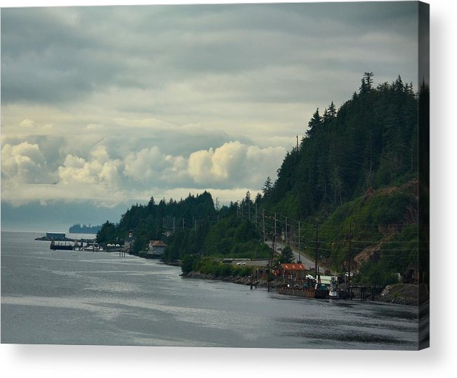 Many Miles To Go Acrylic Print featuring the photograph Many Miles To Go by Richard Stillwell