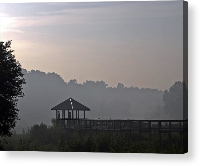 Fog Acrylic Print featuring the photograph Morning Fog by Farol Tomson