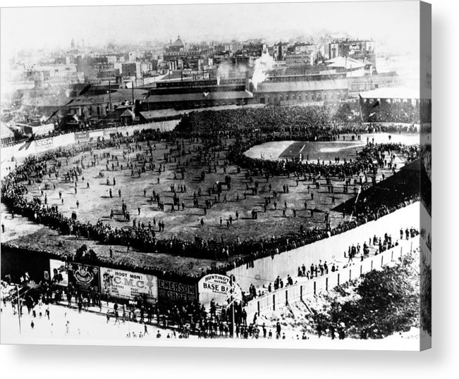 1903 Acrylic Print featuring the photograph World Series, 1903 by Granger
