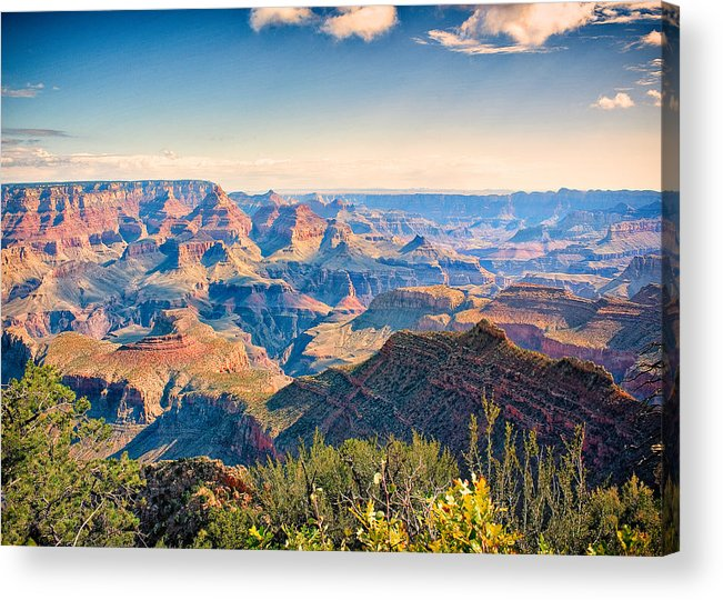 Grand Canyon Acrylic Print featuring the photograph Grand Canyon - South Rim by Chuck Underwood