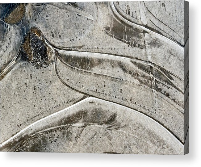 Ice Acrylic Print featuring the photograph Ice by Jean Noren