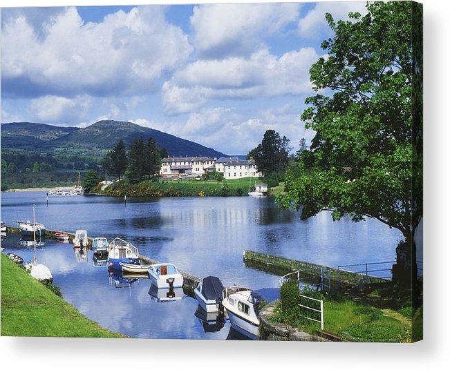 Boats Acrylic Print featuring the photograph Killaloe, County Clare, Ireland by Sici