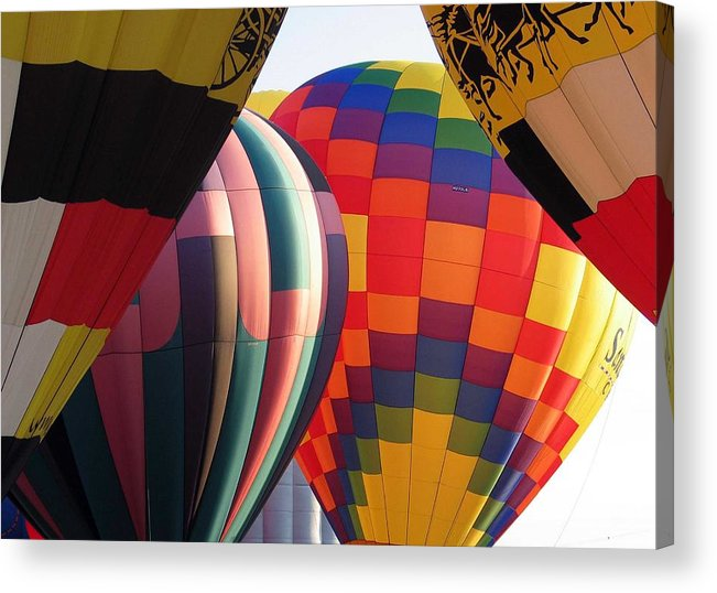 Hot Air Balloons Acrylic Print featuring the photograph Balloons by Margaret Fortunato