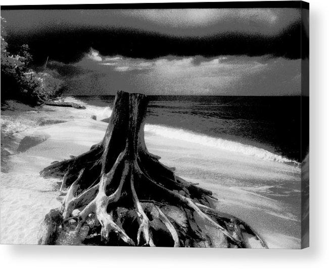 Captiva Florida Acrylic Print featuring the photograph Captiva Storm by Michael L Kimble