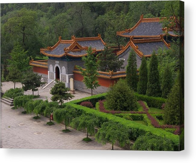 China Acrylic Print featuring the photograph Chinese Palace by Tom Reynen