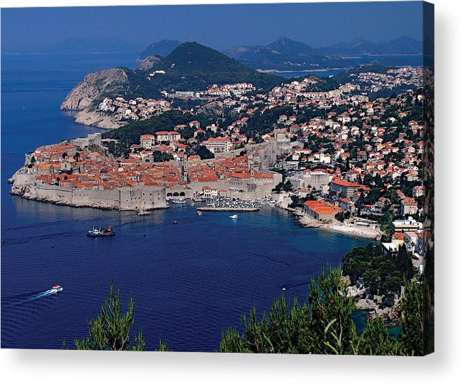 Dubrovnik Acrylic Print featuring the photograph Dubrovnik Croatia by Don Wolf