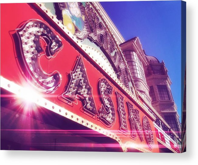 Vegas Acrylic Print featuring the photograph Fremont By Day by JAMART Photography