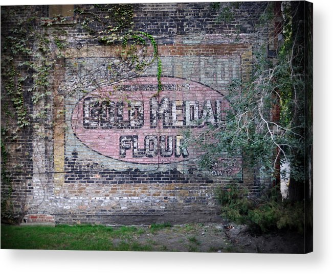 Gold Medal Flour Acrylic Print featuring the photograph Gold Medal Flour by Tim Nyberg