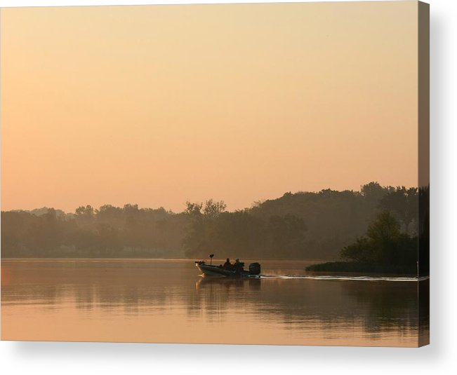 Fising Acrylic Print featuring the photograph Gone Fishin by Jim Darnall