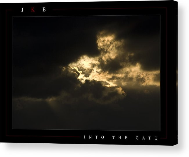 Sky Acrylic Print featuring the photograph Into The Gate by Jonathan Ellis Keys