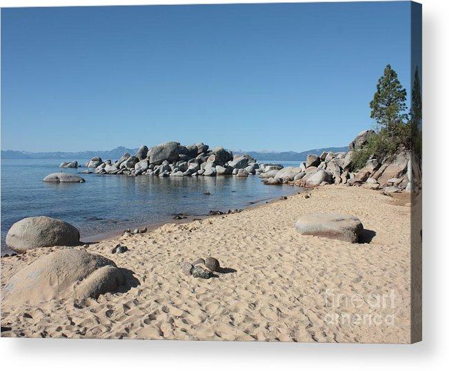 Lake Tahoe Acrylic Print featuring the photograph Lake Tahoe Morning by Carol Groenen